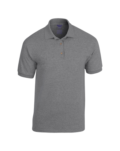 DryBlend Jersey Knit Polo In Graphite Heather