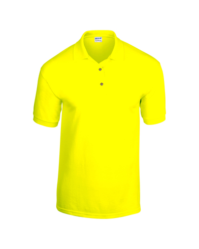 DryBlend Jersey Knit Polo In Safety Green