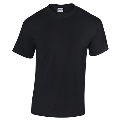 Heavy Cotton Youth T-shirt In Black