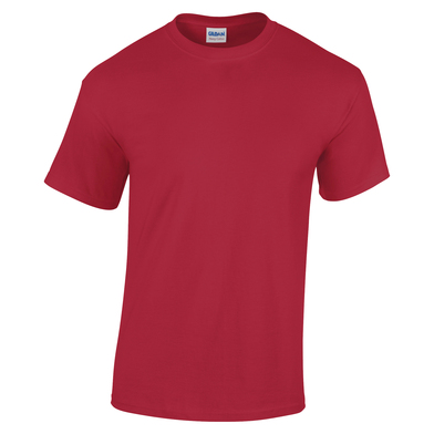Heavy Cotton Youth T-shirt In Cardinal Red