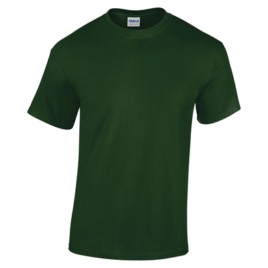 Heavy Cotton Youth T-shirt In Forest