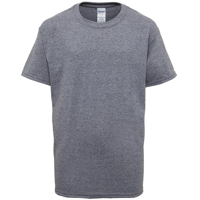 Heavy Cotton Youth T-shirt In Graphite Heather
