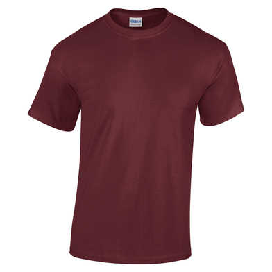 Heavy Cotton Youth T-shirt In Maroon