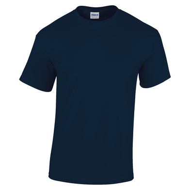 Heavy Cotton Youth T-shirt In Navy