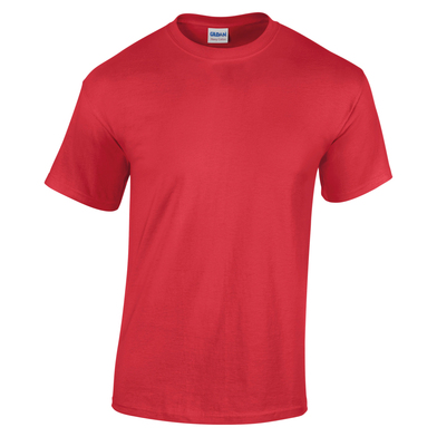Heavy Cotton Youth T-shirt In Red
