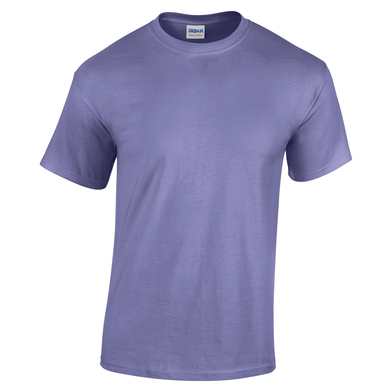 Heavy Cotton Youth T-shirt In Violet