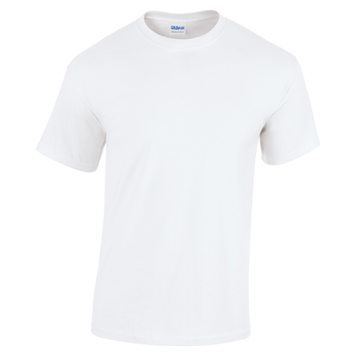 Heavy Cotton Youth T-shirt In White