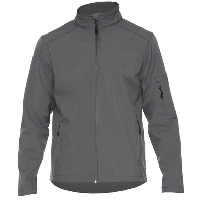 Hammer Unisex Softshell Jacket In Charcoal