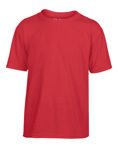 Gildan Performance Youth T-shirt In Red
