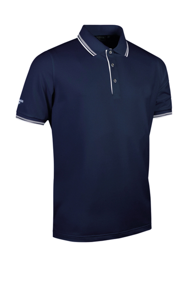 G.Ethan Tipped Polo Shirt (MSP7422-ETH) In Navy/White