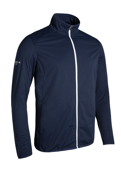 G.Elrick Performance Jacket In Navy / White