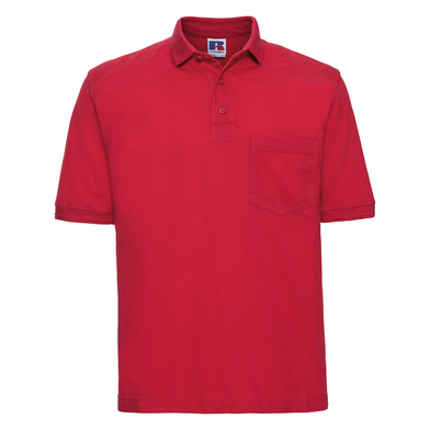 Heavy-duty Polo In Classic Red