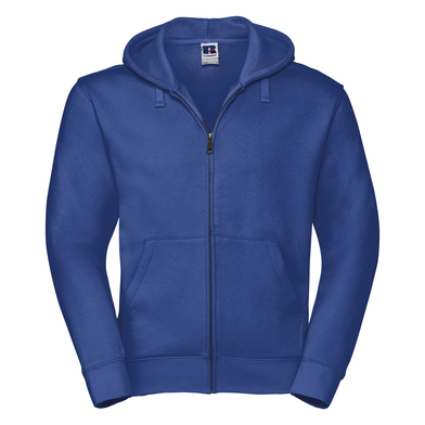 Authentic Zipped Hooded Sweat In Bright Royal