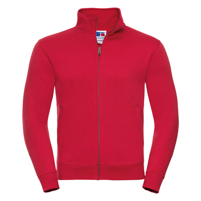 Authentic Sweatshirt Jacket In Classic Red