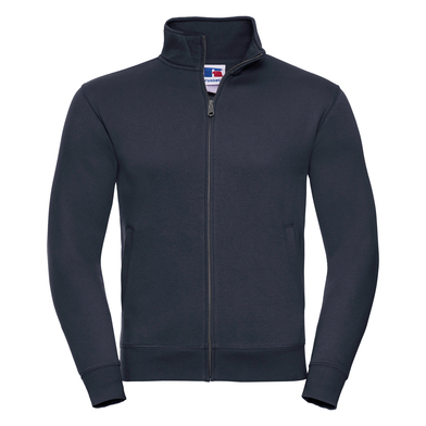 Authentic Sweatshirt Jacket In French Navy