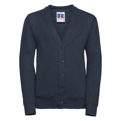 Kids Cardigan In French Navy