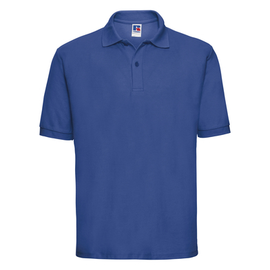 Classic Polycotton Polo In Bright Royal