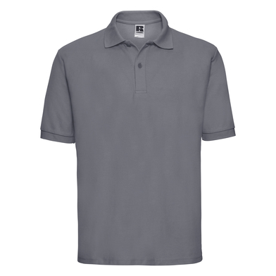 Classic Polycotton Polo In Convoy Grey
