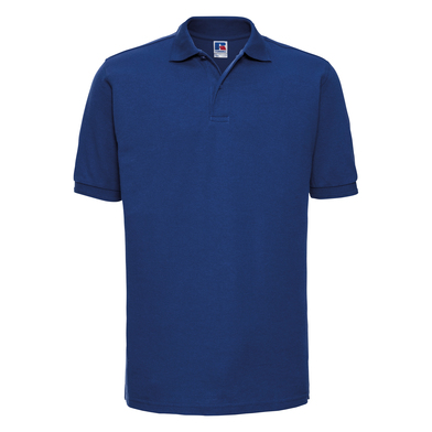 Hard-wearing 60C Wash Polo In Bright Royal