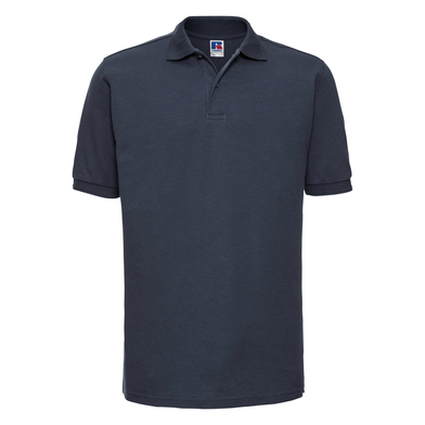 Hard-wearing 60C Wash Polo In French Navy