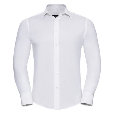 Russell Collection - Long Sleeve Easycare Fitted Shirt