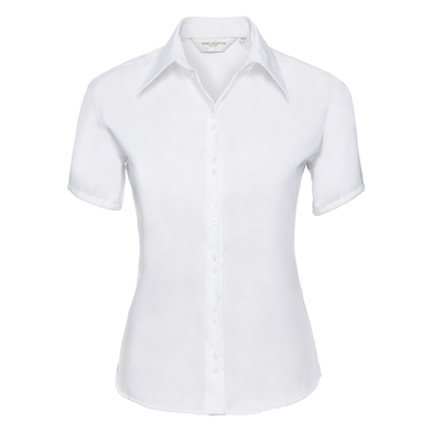 Russell Collection - Women's Short Sleeve Ultimate Non-iron Shirt