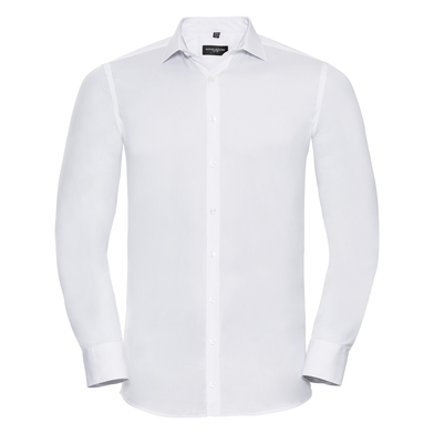 Russell Collection - Long Sleeve Ultimate Stretch Shirt