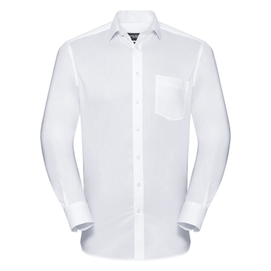 Russell Collection - Long Sleeve Tailored Coolmax Shirt