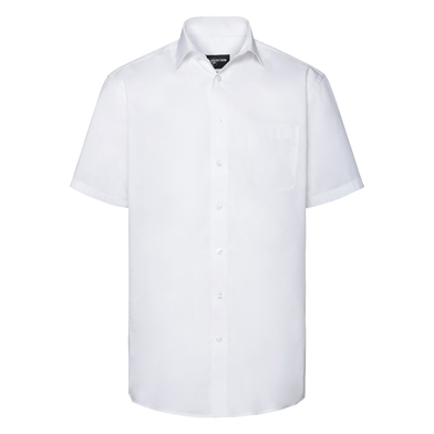 Russell Collection - Short Sleeve Tailored Coolmax Shirt