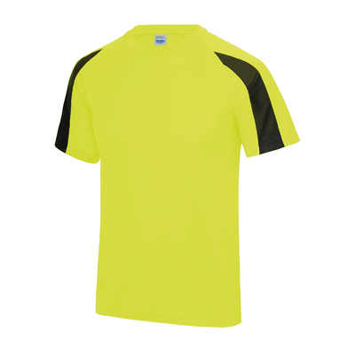 Contrast Cool T In Electric Yellow/Jet Black