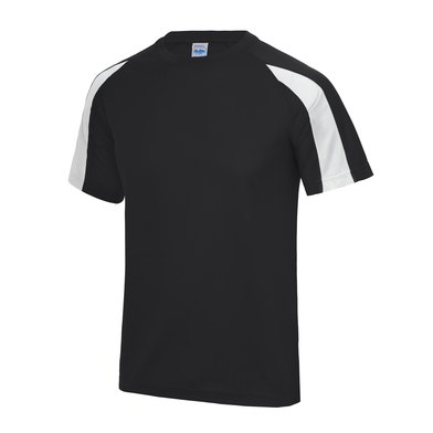 Contrast Cool T In Jet Black/Arctic White
