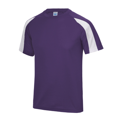 Contrast Cool T In Purple/Arctic White