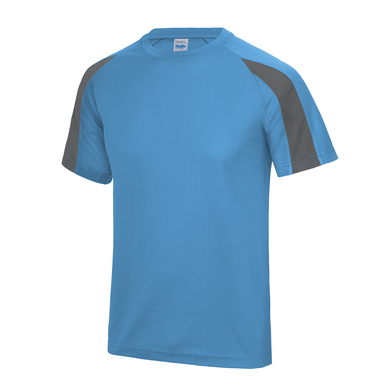 Contrast Cool T In Sapphire Blue/Charcoal