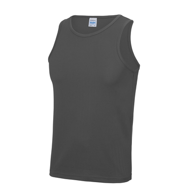 Cool Vest In Charcoal