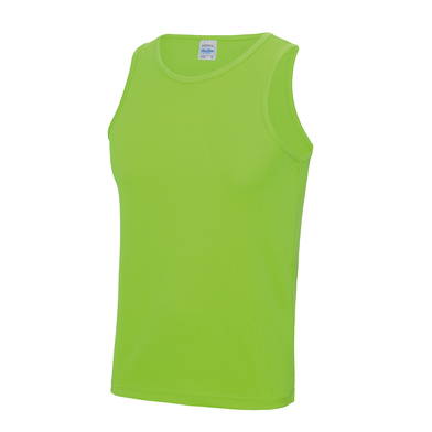 Cool Vest In Electric Green