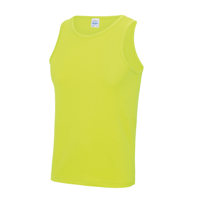 Cool Vest In Electric Yellow