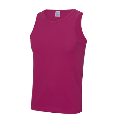 Cool Vest In Hot Pink