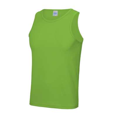 Cool Vest In Lime Green
