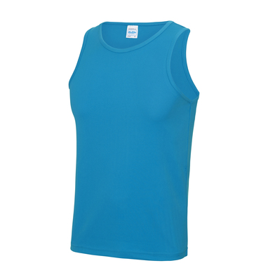 Cool Vest In Sapphire Blue