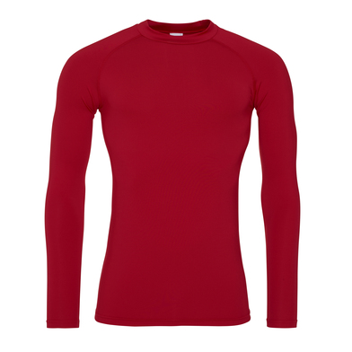 Cool Long Sleeve Baselayer In Fire Red