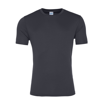 Cool Smooth T In Charcoal