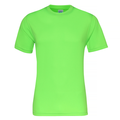 Cool Smooth T In Electric Green