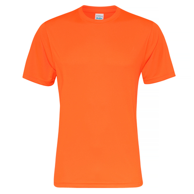 Cool Smooth T In Electric Orange