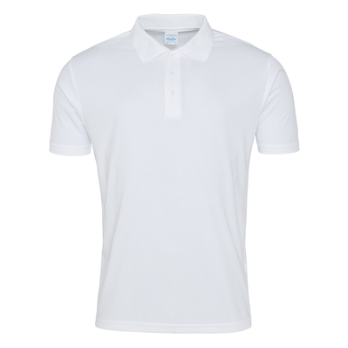 Cool Smooth Polo In Arctic White