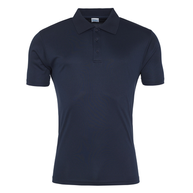 Cool Smooth Polo In French Navy