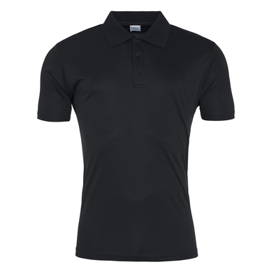 Cool Smooth Polo In Jet Black