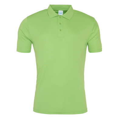 Cool Smooth Polo In Lime Green