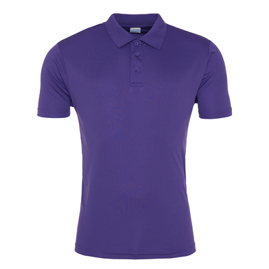 Cool Smooth Polo In Purple