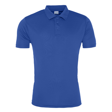 Cool Smooth Polo In Royal Blue