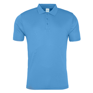 Cool Smooth Polo In Sapphire Blue